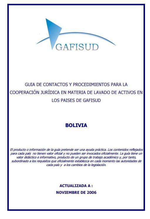 Guia Coop ALM BOLIVIA 2006