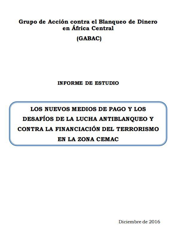 Etude Typologies NMP Rapport Final draft valide 24112016 ESPAGNOL